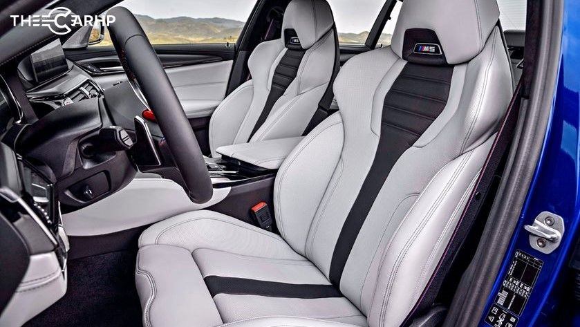2021 BMW M5 Front Seat