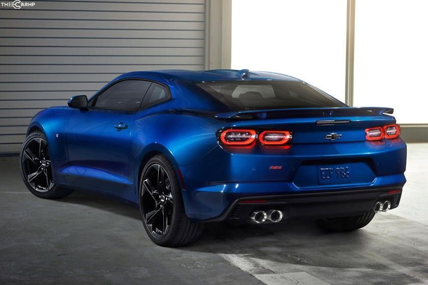 2020 Chevrolet Camaro Coupe Rear View