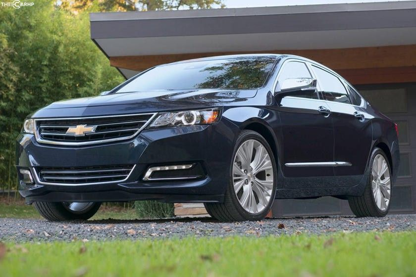 2020 Chevrolet Impala Sedan 3rd quarter view