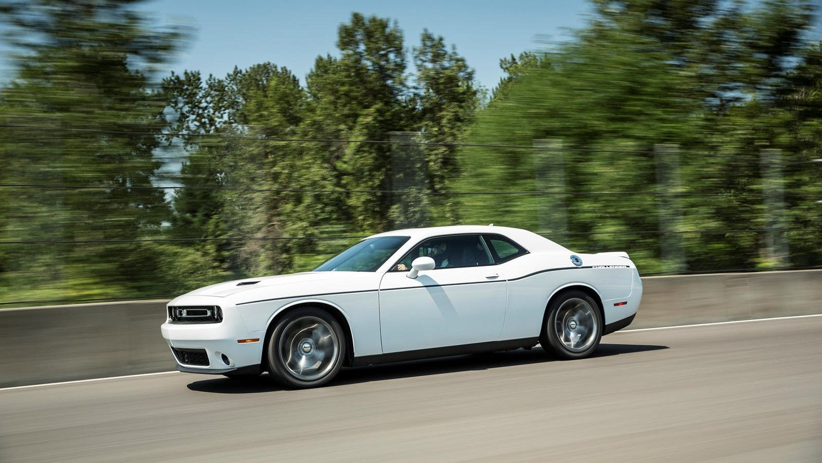 2021 Dodge Challenger Side View