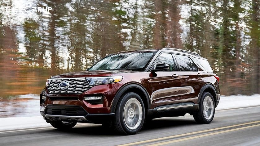 2021 Ford Explorer Exterior Front angle View