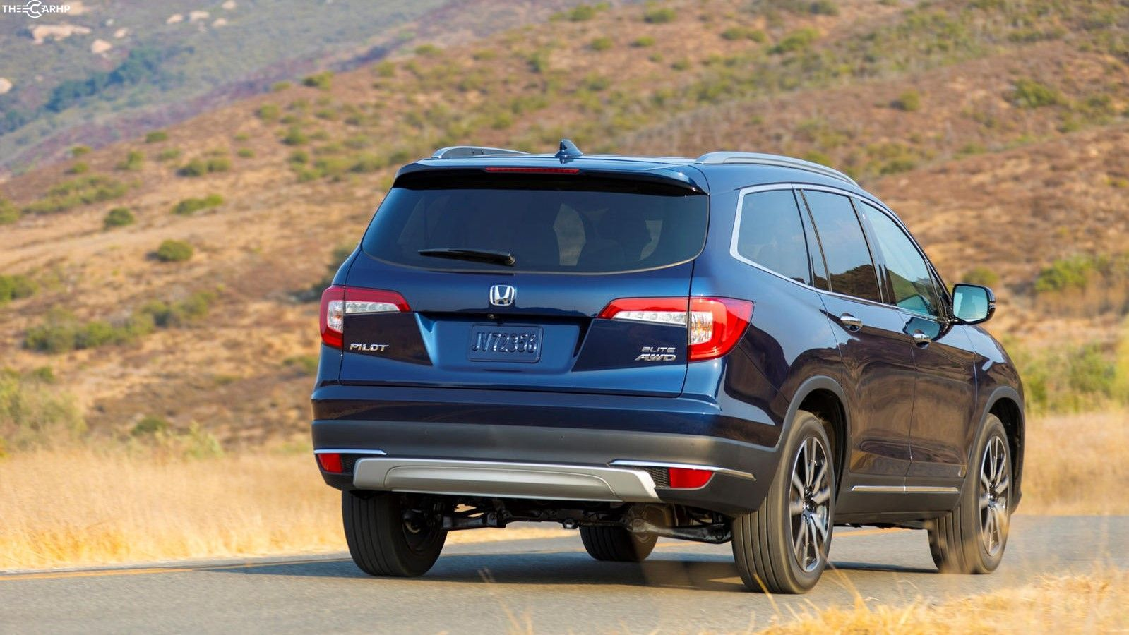 2021 Honda Pilot Rear View