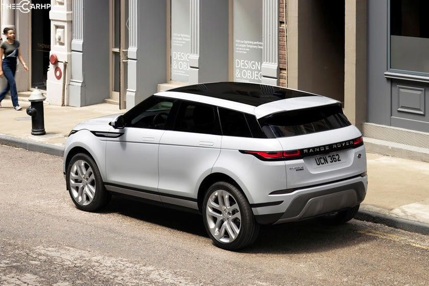 2020 Land Rover Range Rover Evoque rear