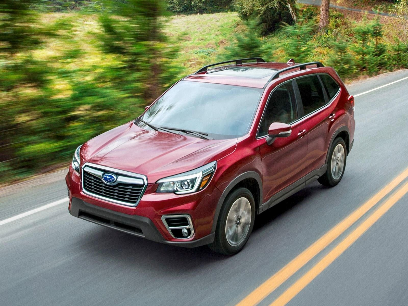 020 Subaru Forester Crossover 3rd Quarter View
