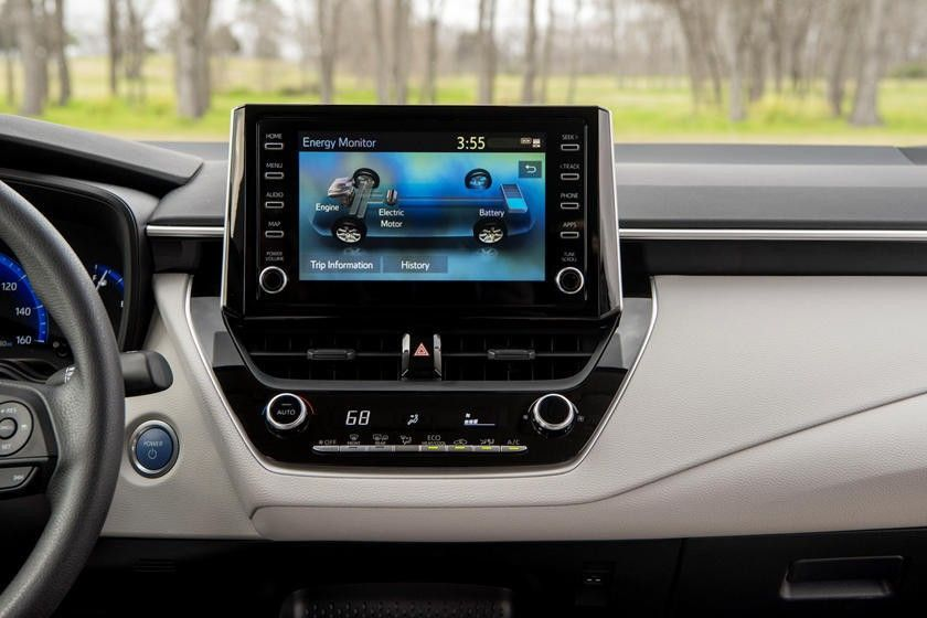 2020 Toyota Corolla Hybrid Sedan Infotainment Screen